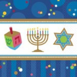 Napkins-BEV-Hanukkah Celebrations-36pk-2ply
