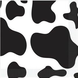 Napkins-BEV-Cow Print-16pkg-2ply