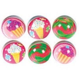 """Party Favors-Sweet Shop Bounce Balls-6pkg-1.75"""""""