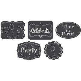 "Cutouts-Assorted Chalkboard-5pkg-6""x8"""
