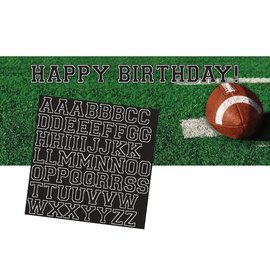 "Giant Banner-Plastic-Customizable-Tailgate Rush-1pkg-20""x60"""
