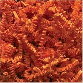Shredded Paper-Orange-1pkg-1 Pound