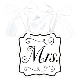 Chair Sign - Mrs.