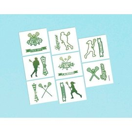 Tattoo - Lacrosse - 16pc