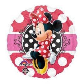 "Foil Balloon-Minnie Mouse 17"""