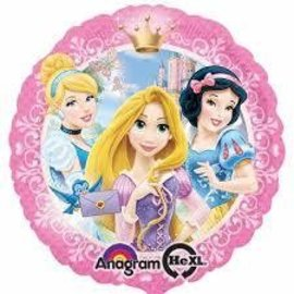 "Foil Balloon-Disney Princess 17"""