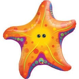 Foil Balloon-Giant Starfish 30""