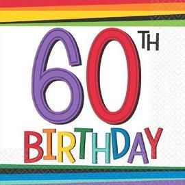 Napkins - Bev - 60th Birthday