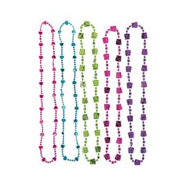 Bead Necklace - Mad Tea Party-30''-10pk