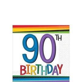 Napkins - Bev - 90th Birthday