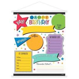 Birthday Sign - Add any age Milestone