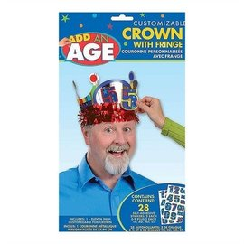 Crown with Fringe - Personalizable