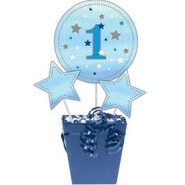 Centerpiece Sticks - One Little Star Blue