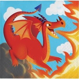 Loot Bags - Dragon Party-6.5''x9''-8pk