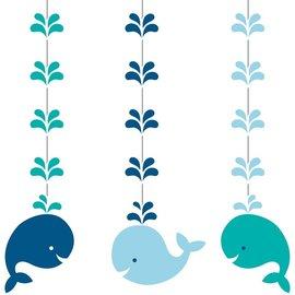 Hanging Cutouts - Lil Spout Blue