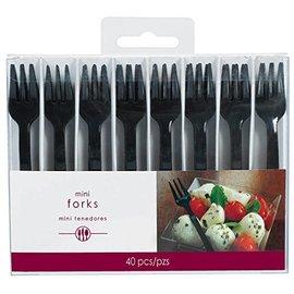 Forks-Black-Plastic-40pk
