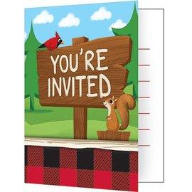 Invites - Lumberjack