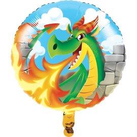 Foil Balloon - Dragon Party