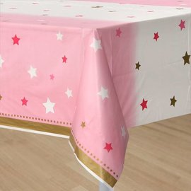 Tablecover - One Little Star Pink