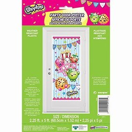 Door Poster-Shopkins