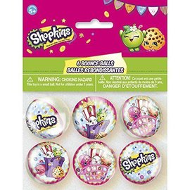 Bounce Ball-Shopkins-6pk