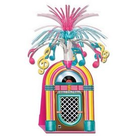 Centerpiece-Cascade-50's Jukebox-1pkg-15""