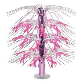 """Centerpiece-Cascade-Pink Ribbons-1pkg-18"""""""