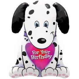 "Foil Balloon - Dalmatian Puppy - 31"""
