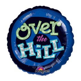 Foil Balloon - Over the Hill - 18""