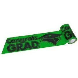 Streamer-Green Congrats Grad-300ft (Seasonal)