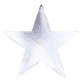 Cutouts-Star-Silver-Foil-12''