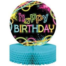 """Centerpiece-Honeycomb-Glow Party Birthday-1pkg-9""""x12"""""""