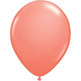 Latex Balloon-Coral-1pkg-11""