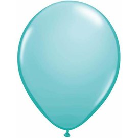 "Latex Balloon-Caribbean Blue-1pkg-11"""