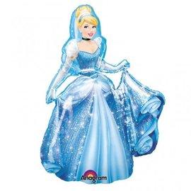 """Foil Balloon-Cinderella Airwalker 48"""""""