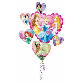 Foil Balloon-8 Princess Disney Princess SuperShape 34""