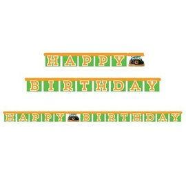 Jointed Banner-Happy Birthday Tractor