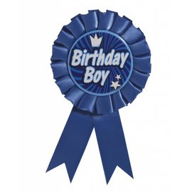 Award Ribbon Birthday Boy 1 PKG
