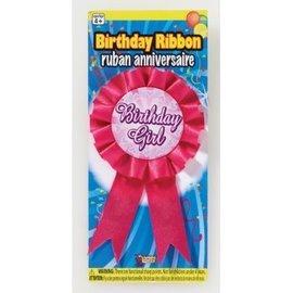Award Ribbon Birthday Girl