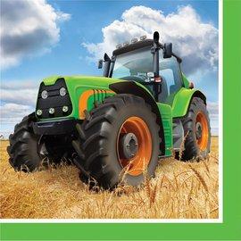 Tractor Time-BEV Napkins 16pk