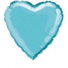 Foil Balloon - Heart -Baby Blue-18''