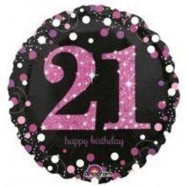 Foil Balloon-21st Birthday
