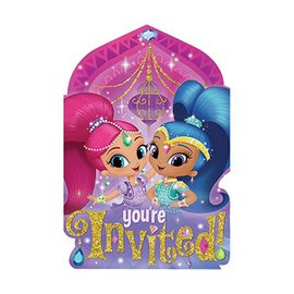 Invites-Shimmer and Shine
