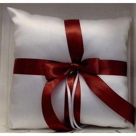 Ring Pillow-Caramel Brown-7'' x 7''