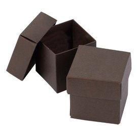 Favor Boxes- Brown- 25pk