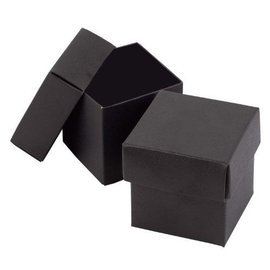 Favor Boxes- Black- 25pk