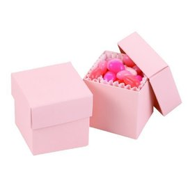 Favor Boxes- Light Pink- 25pk