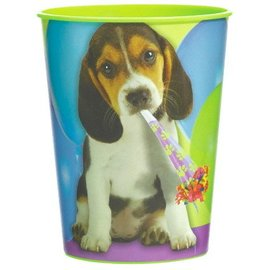Hard Plastic Cup-Party Pup-1pk - Discontinued