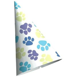 Paper Cone Hats-Party Pup-6pk