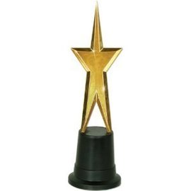 "Award Gold Star (9"") - 1pk"